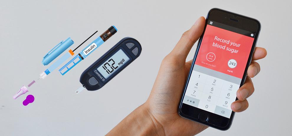 تطبيق قياس الضغط والسكر بالبصمة