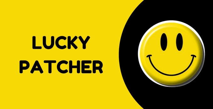 برنامج lucky patcher للكمبيوتر